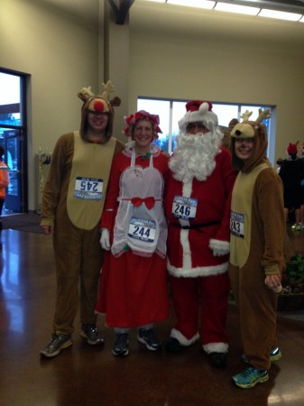 St. Helens Reindeer Run - Holiday runners