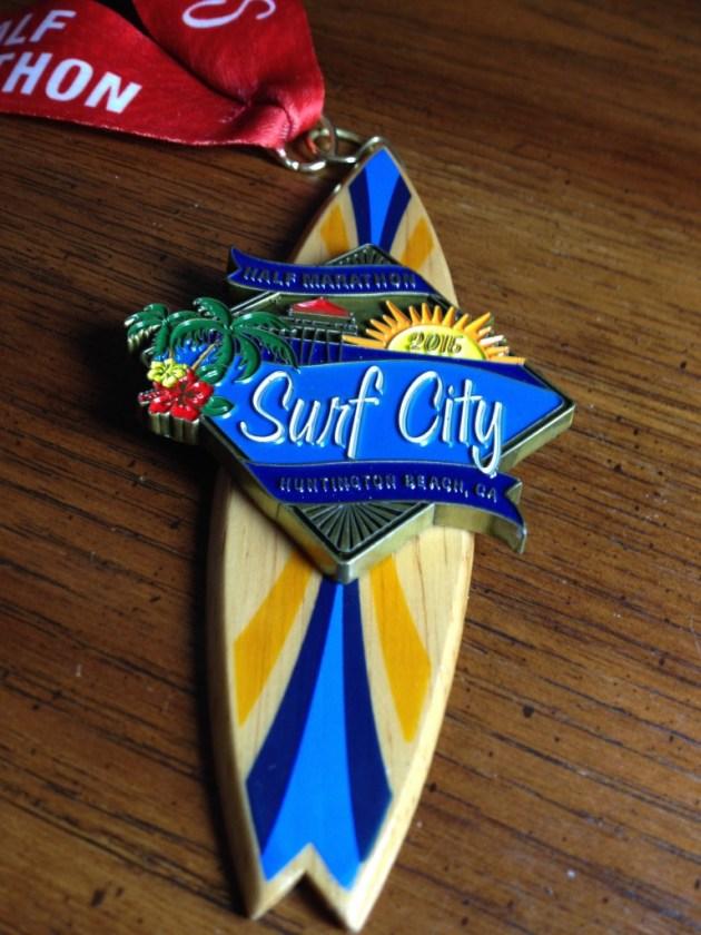 Surf City - Medal