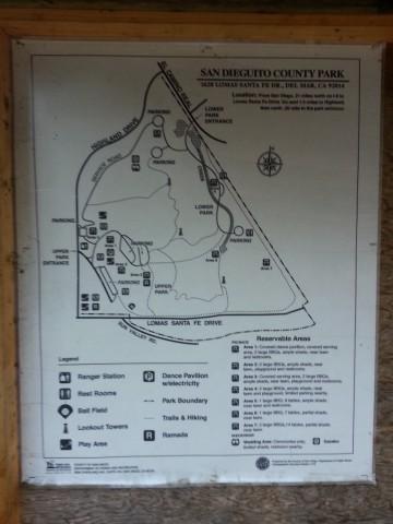 San Dieguito - map