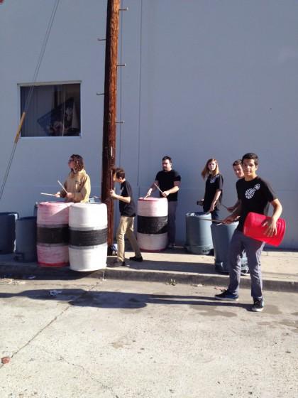 32-SD Half - Street drummers