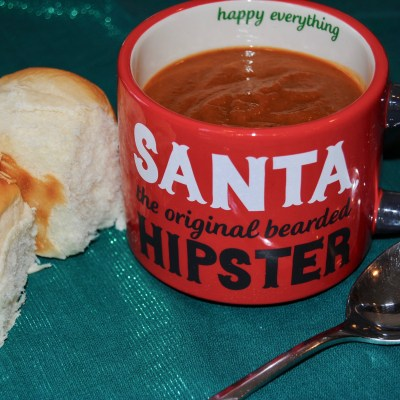 The Hungry {Romance} Writer: Tomato Basil Soup