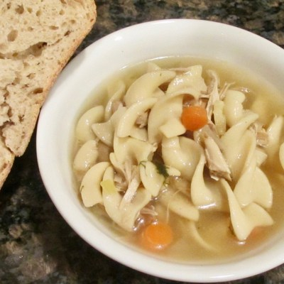 The Hungry {Romance} Writer: Chicken Noodle Soup