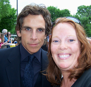 Ben Stiller and Megan Gilmore