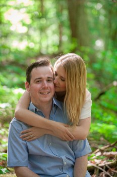 Evan & Liz Summer Cottage Engagement Session