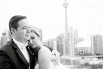 Wedding Queen Street Burroughes City Toronto Skyline