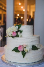 Toronto Wedding Queen Street Burroughes City Flower Cake