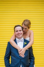Wedding Queen Street Burroughes City Toronto Bright Colours Yellow