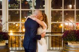First Kiss - Ceremony - Jewish Wedding - Offbeat Bride - St.Lawrence Market Wedding - Toronto Wedding Photographer