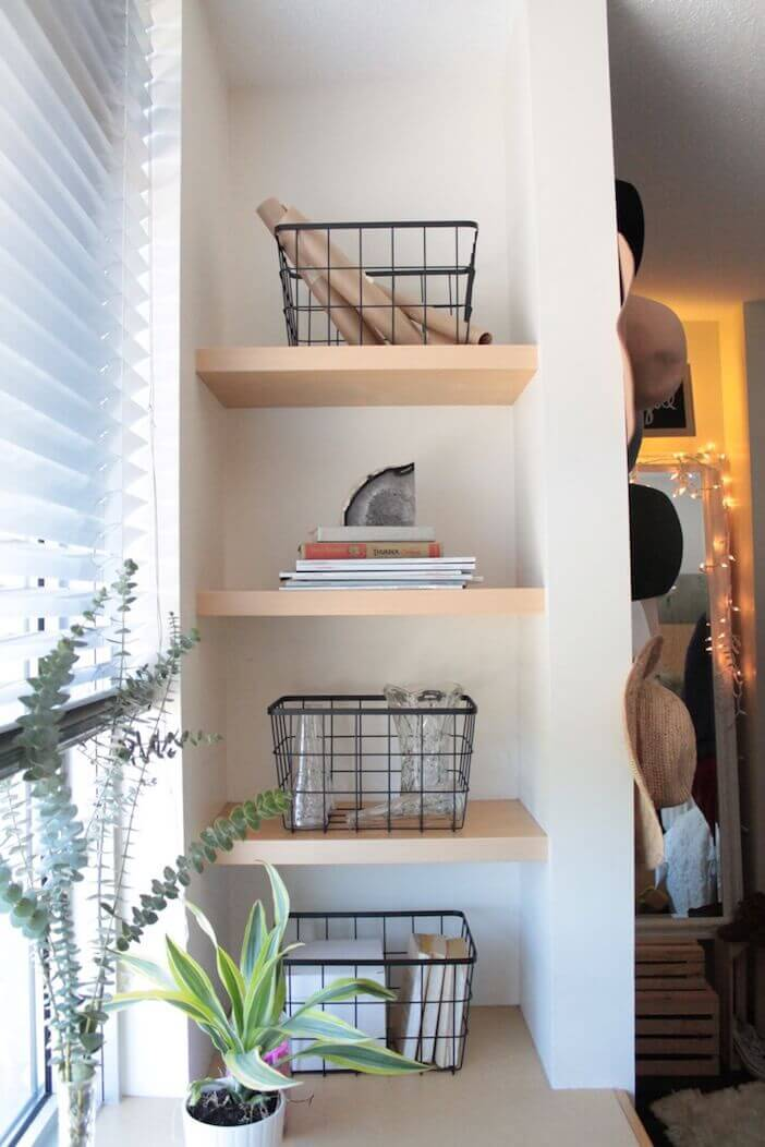 28 Small Bedroom Organization Ideas That Are Smart and ...