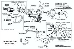 Efco Chainsaw Parts Diagram Husqvarna 55 Rancher Chainsaw