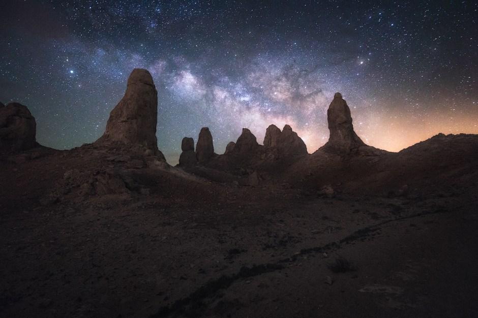 Alien Invasion under the stars.
