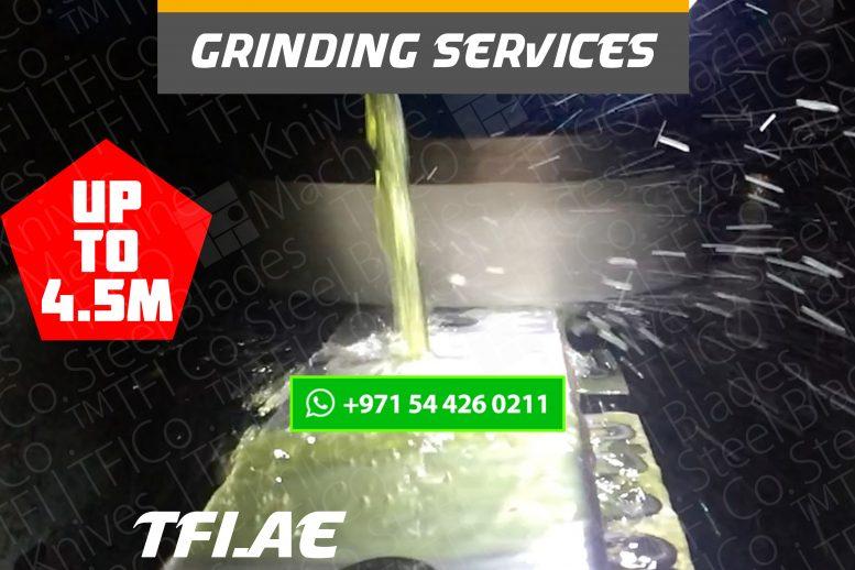 grinding, sharpening, services, tfico, machine knives, steel blades, uae, dubai, qatar, tungsten, shear blade, long , shine cut