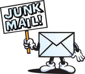 Resultado de imagem para Junk email