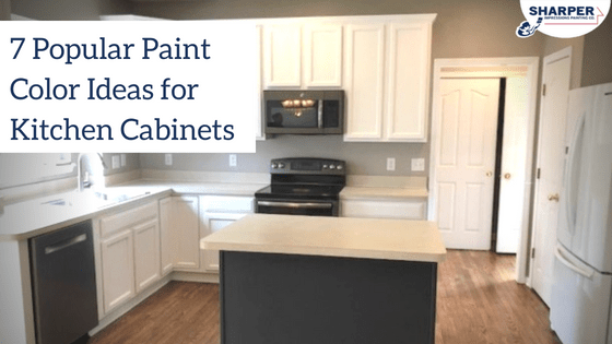 Painting Kitchen Cabinets: 7 Popular Kitchen Cabinet Color