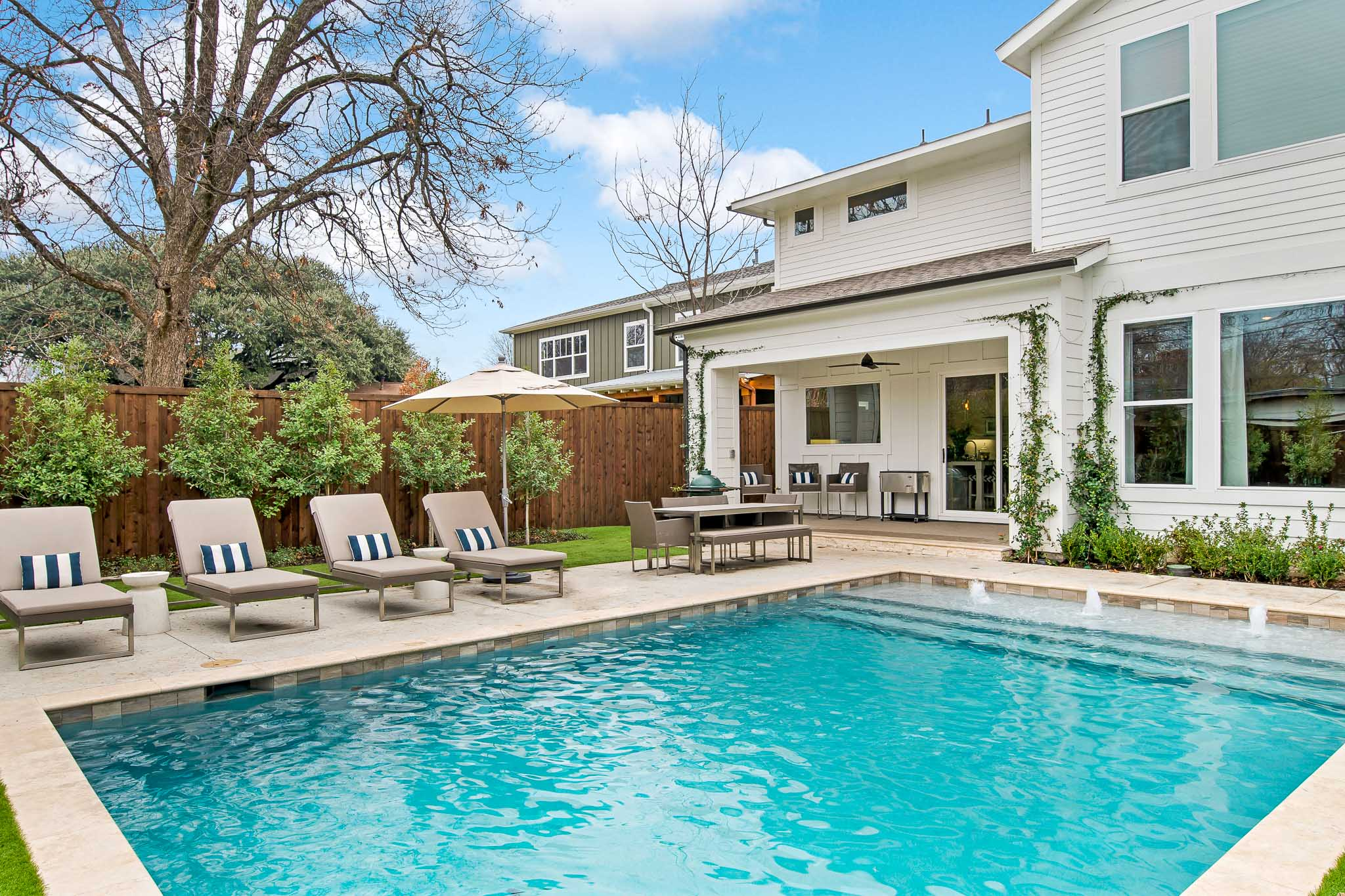 Dallas Air B and B photographed for listing