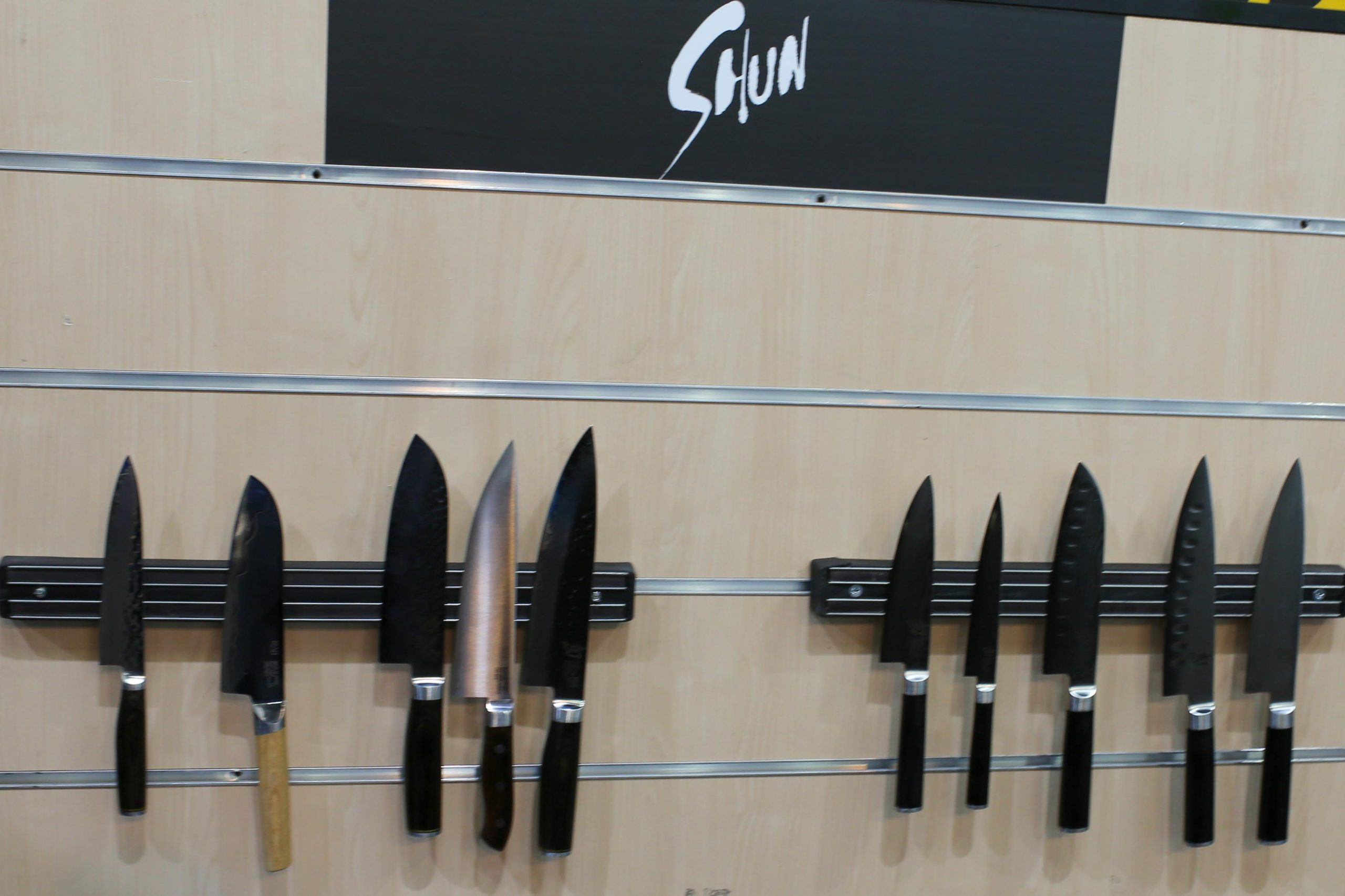 Dick, Shun, Global and Berox Kitchen Knives Presented at the Hotex-Kitex Expo