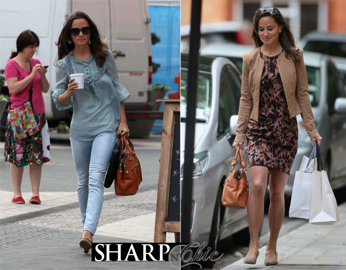pippa middleton fashion skirt and jeans