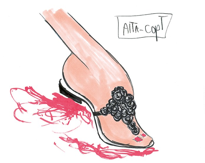 louboutin sketches 20th collection