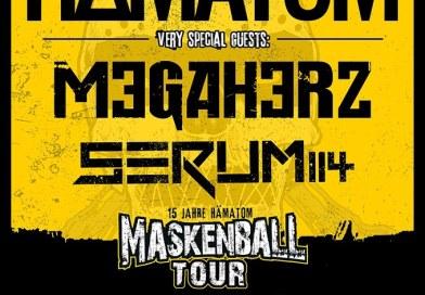 Ankündigung: Nach dem Karneval ist vor dem Maskenball! HÄMATOM gehen wieder auf Tour!