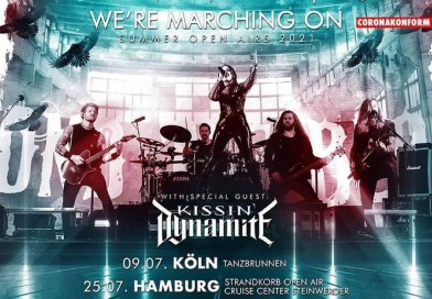 We´re marching on – Summer Open Airs 2021 mit BEYOND THE BLACK