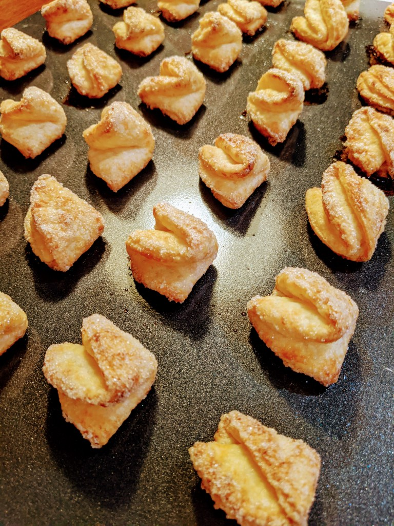 Bake until they are golden brown and puffy