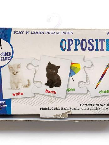 Play n' Learn Puzzle Pairs – Opposites