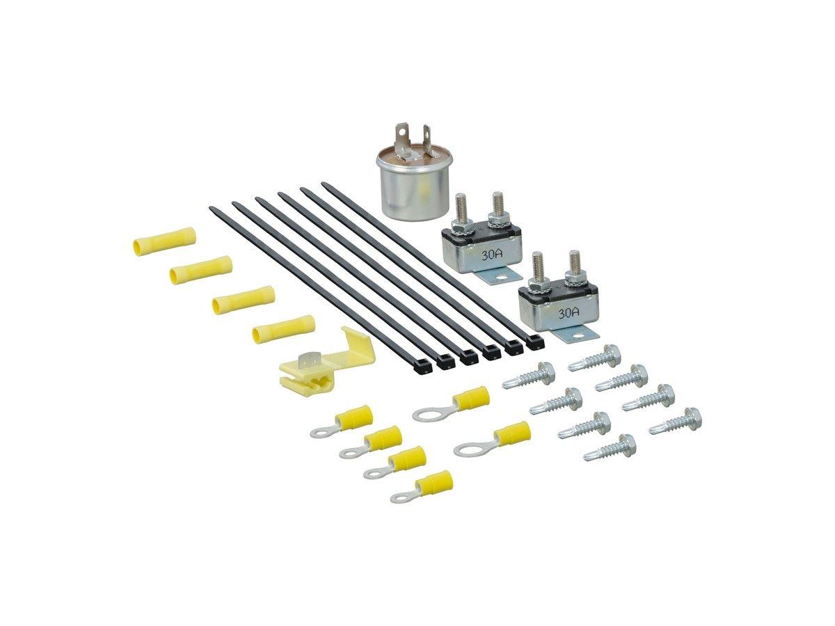 Curt 4 Way Flat To 7 Way Round Rv Blade Wiring Adapter