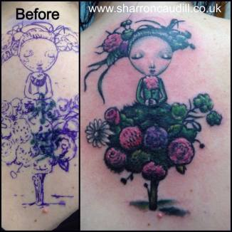 girl cover up