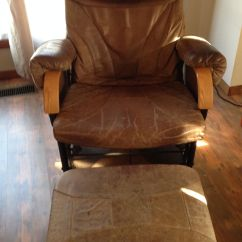 Recliner Chair Laptop Stand Leather Swivel Chairs For Living Room Diy Annie Sloan Chalk Paint   Sharsum's Great Finds