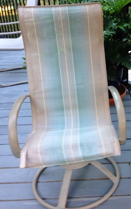 slings for homecrest style patio chairs