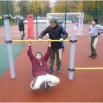 СМИ об открытии спортивной площадки в Клещёвке