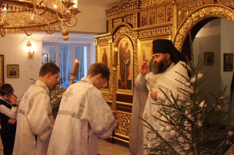Праздничное богослужение Обрезание Господня