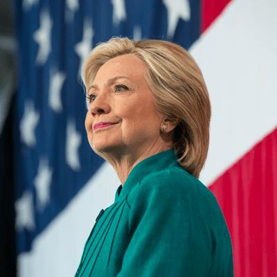 Presidential nominee, Democrat Hillary Clinton