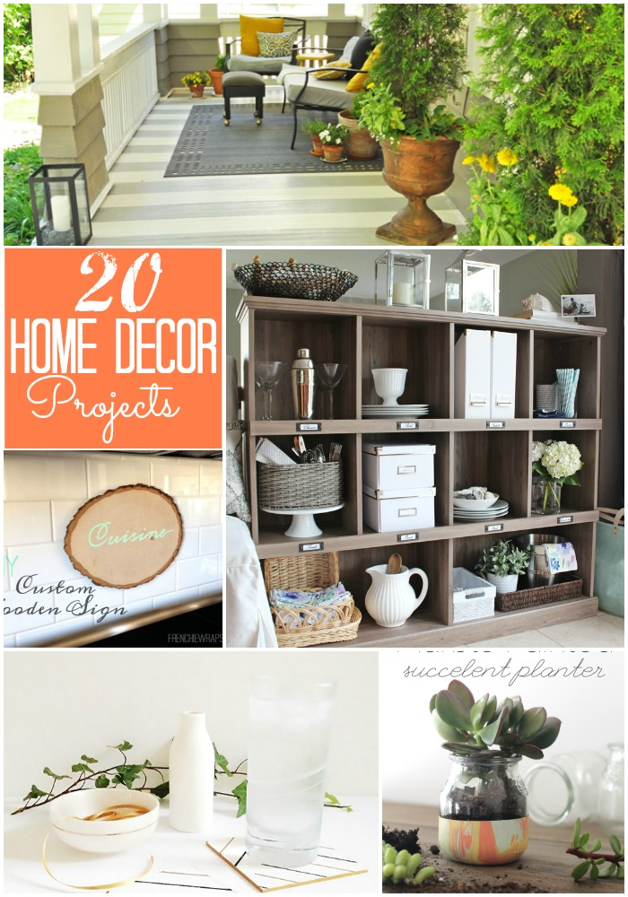 Best Great Ideas 20 Diy Home Decor Projects This Month