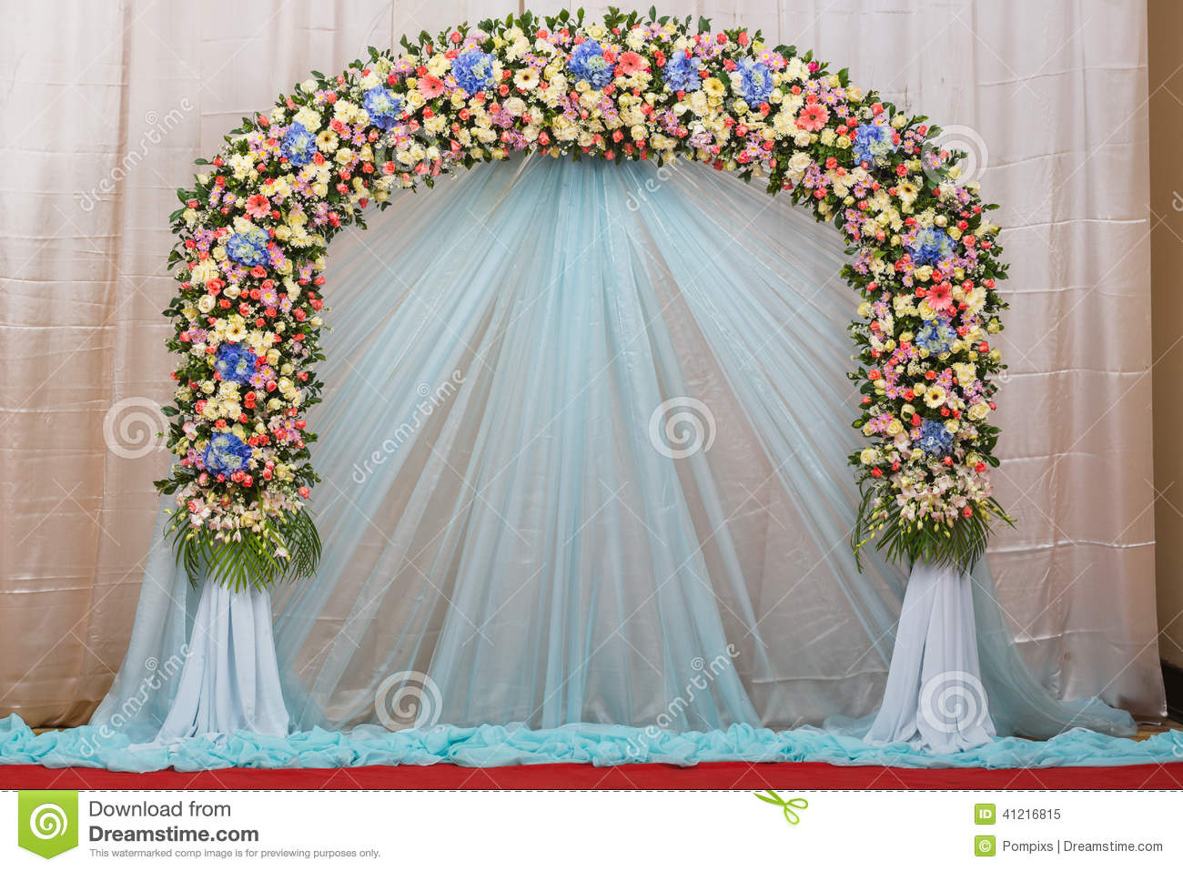 Best Background Of Beautiful Flower Wedding Decorate Stock This Month