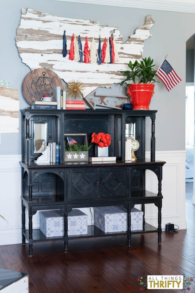 Best Red White And Blue Patriotic Decor This Month