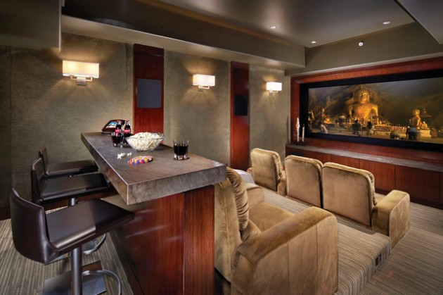 Best 22 Contemporary Media Room Design Ideas This Month