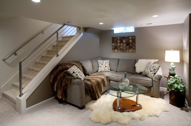 Best 24 Stunning Ideas For Designing A Contemporary Basement This Month