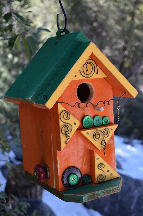 Best 35 Beautiful Birdhouse Design Ideas This Month
