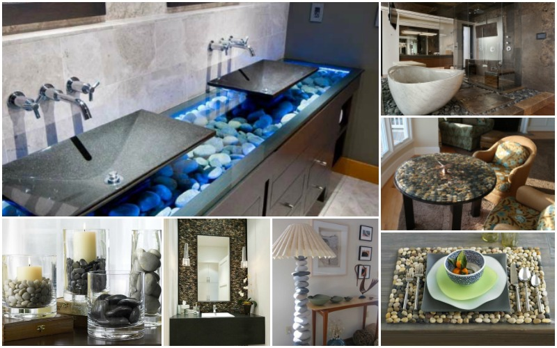 Best How To Decorate Your Lovely Homes With River Rocks This Month