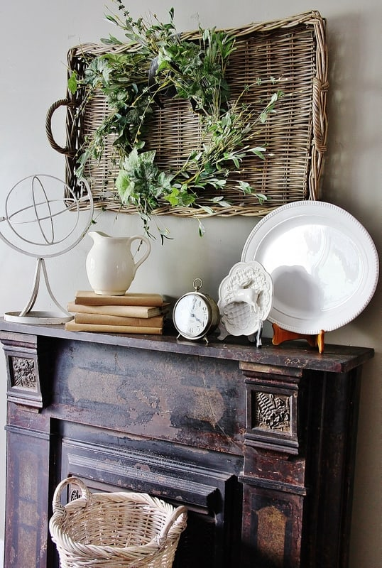 Best Mantel Decorating Ideas Thistlewood Farm This Month