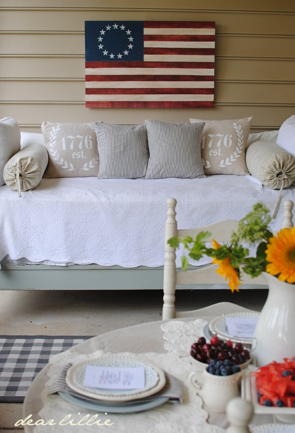 Best Decorating With Ticking Stripe Fabric Driven By Decor This Month