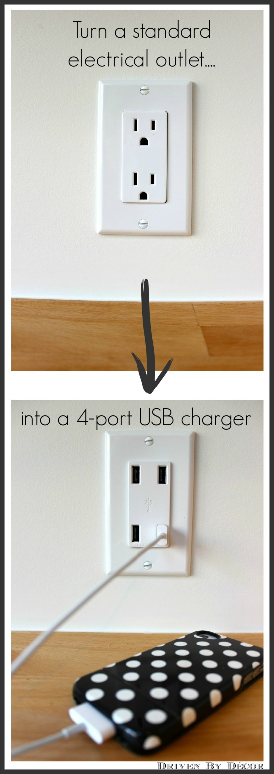 Best Diy Family Charging Station Driven By Decor This Month