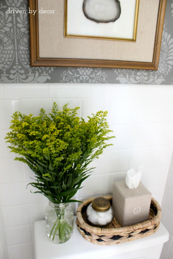 Best And Finally The Bathroom Reveal Driven By Decor This Month