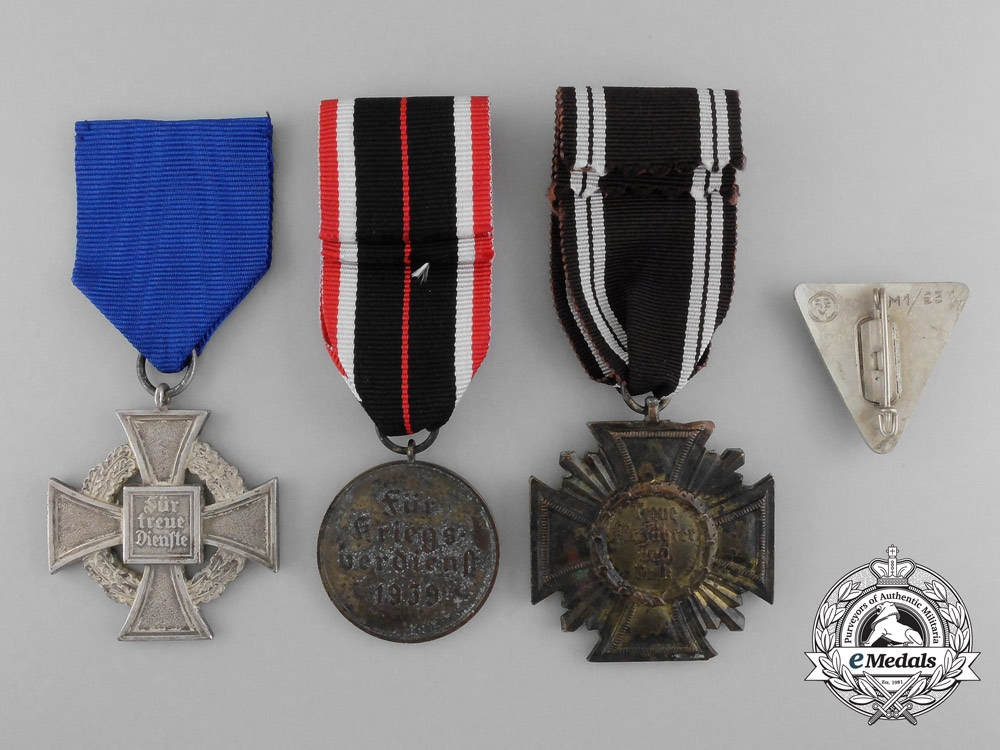 Best A Lot Of Four Second War German Awards Medals And Decorations This Month