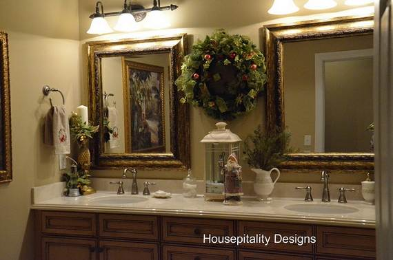 Best Cute Bathroom Decorating Ideas For Christmas Family This Month