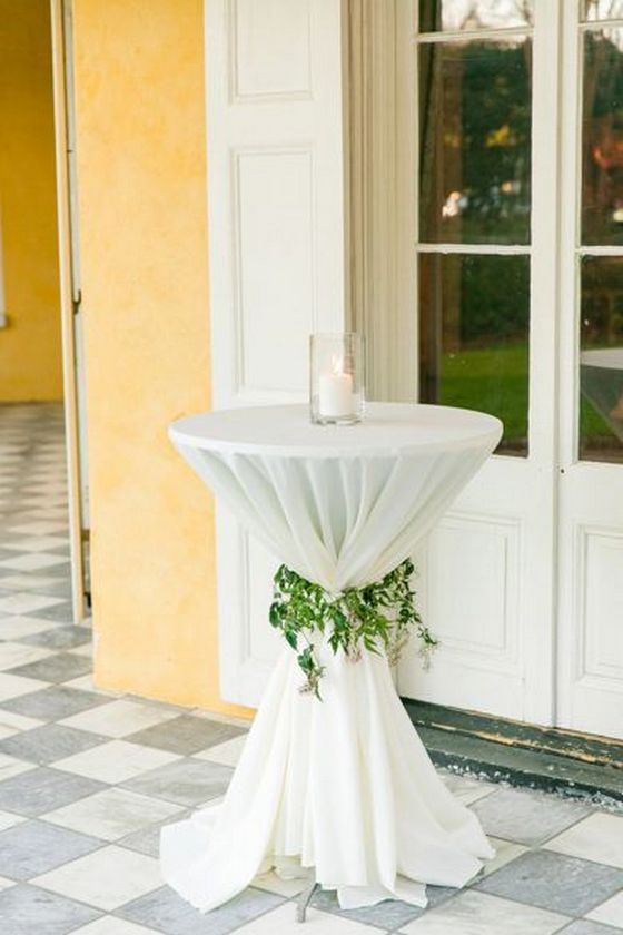 Best 40 Incredible Ideas To Decorate Wedding Cocktail Tables This Month