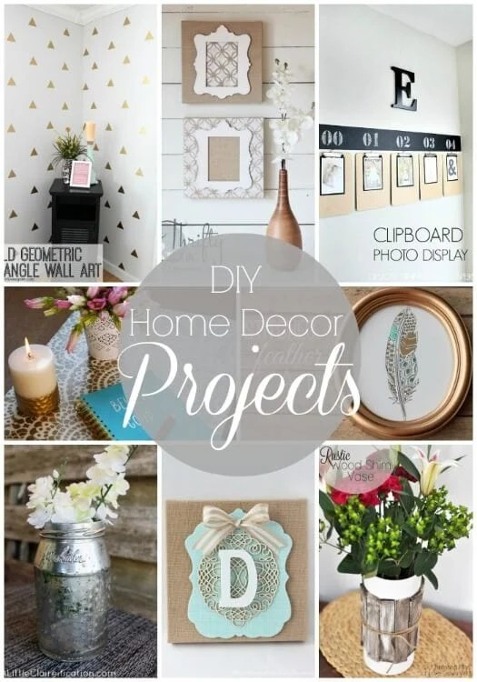 Best 20 Diy Home Decor Projects Link Party Features I Heart This Month