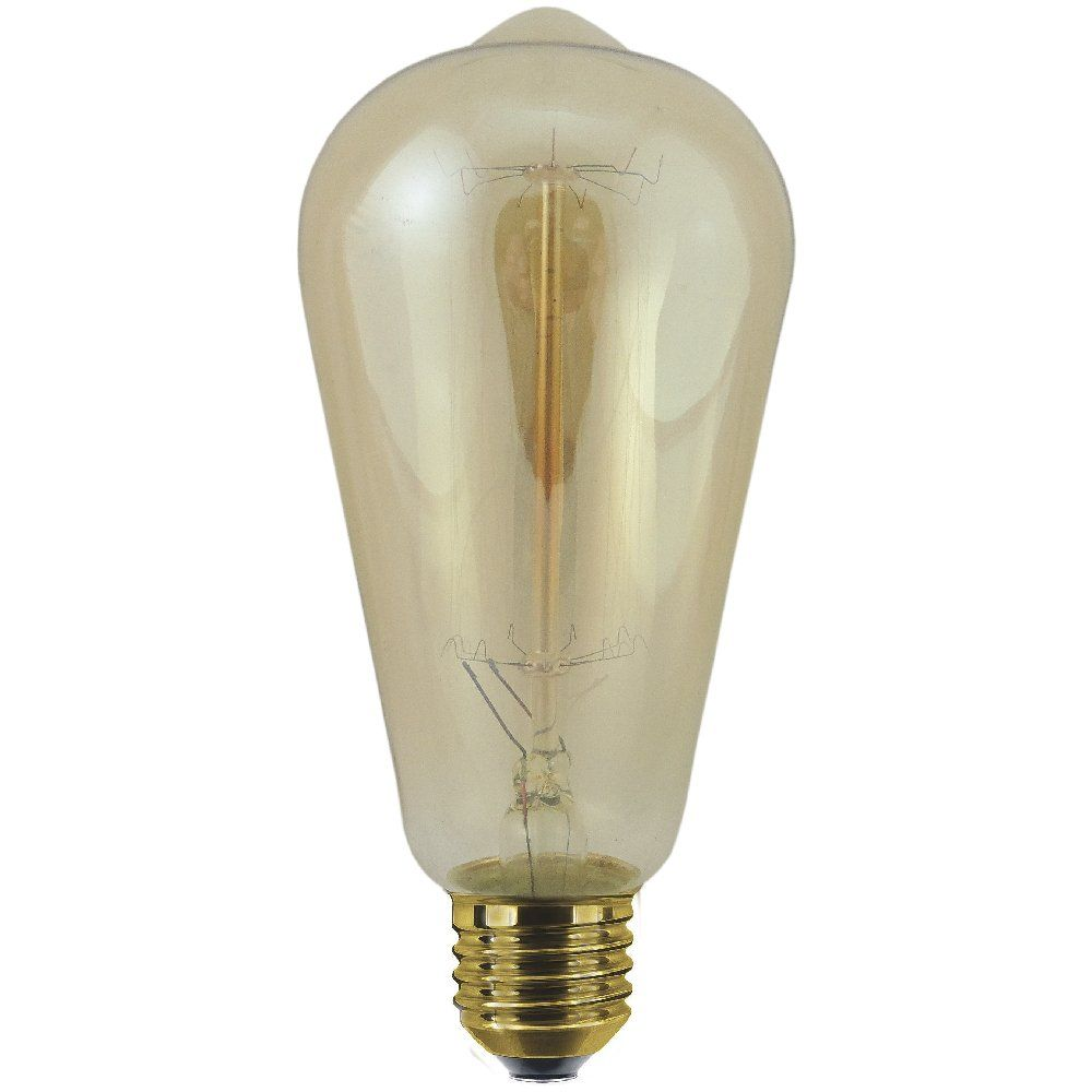 Best 60 Watt Es E27 Decorative Rustic Classic Light Bulb This Month