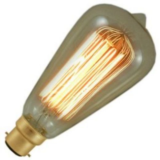 Best 60 Watt Bc B22Mm Decorative Antique Period Lantern Bulb This Month